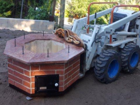 Mobil kerti szalonnasütő - azonos élmény kisebb költséggel