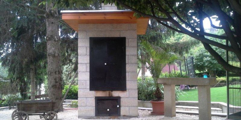 Kerti füstölő építés, füstölő…